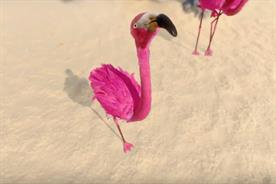 Lastminute.com's new flamingo protagonist tells consumers to do