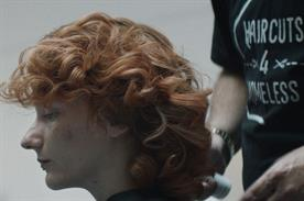 National Lottery switches focus to good causes with homeless haircuts ad