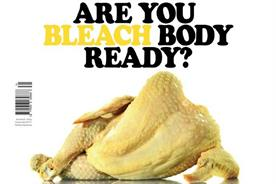 New European cover spoofs Protein World in taunt to Brexit's 'headless chickens'