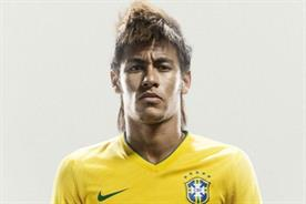 Neymar: maintained the highest sponsorship value of any World Cup player