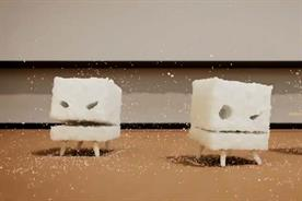Change4Life ad depicts sugar cubes as swarm of attacking monsters