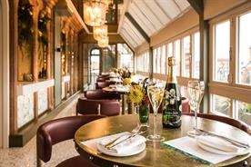 Harrods: the Perrier-Jouet Champagne Terrace is open to the public from this mon