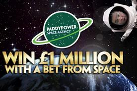 Paddy Power: winner will place their bet from space