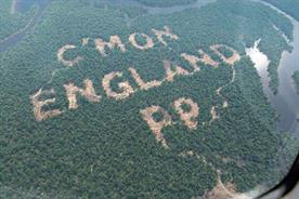 Paddy Power's World Cup rainforest stunt