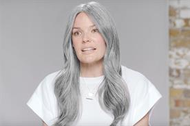 Pantene breaks beauty advertising norms by celebrating grey hair