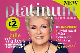 Platinum: debut issue features cover star Julie Waters