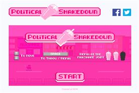 Political Shakedown game aims to encourage people to stand up to hate