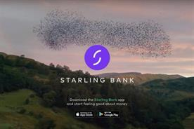 Starling Bank: first-ever TV ad launched in October