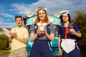 Netflix recreates Stranger Things' Scoops Ahoy ice-cream van for the UK