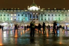 The Edmond J. Safra Fountain Court is available to hire for fashion events (somersethouse.org.uk)