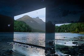 Artful Sony campaign uses 4K Bravia TVs as a window into the dark of the wilderness