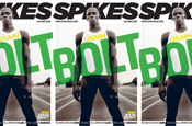 Spikes: with cover star Bolt