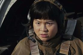 Star Wars character Rose Tico, played by Kelly Marie Tran
