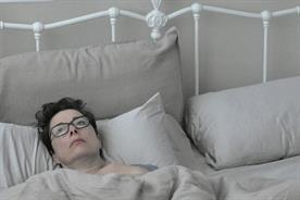 Sue Perkins: looking lonely during her 30-hour confinement