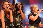 Sugababes: at the BT digital music awards