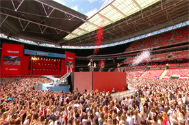 Vodafone selected FreemanXP to deliver its Summertime Ball sponsorship in 2016