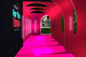 TikTok content trends brought  to life in Westfield creator space
