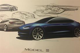 Tesla Model 3 concept art