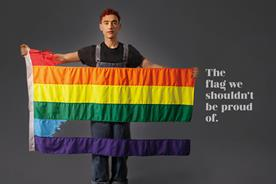 Pride flag damaged to raise awareness of LGBTQ+ youth suicide