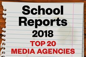 Top 20 media agencies