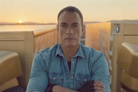 Jean Claude Van Damme: ad for Volvo knocks John Lewis off the top spot