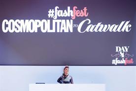 DJ Krystal Roxx on day four of Cosmo #FashFest