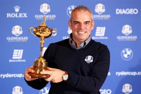 Europe's Ryder Cup captain, Paul McGinley (Getty Images)