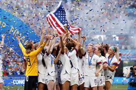 Women's World Cup final attracts record TV audience