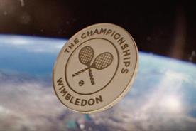 Wimbledon marks finals weekend with space odyssey