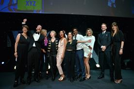 XYZ scooped the Grand Prix Award for Nike Strike Night