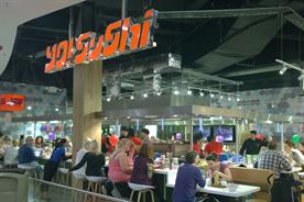 Yo! Sushi ponders name change in brand overhaul