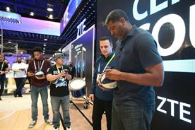 ZTE leveraged their sponsorship of five NBA teams with visitors flocking to take selfies with NBA legends