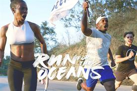 Adidas highlights plight facing oceans with community run