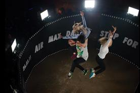 Guests were invited to 'Stop for air' in a selfie arena