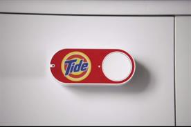 Amazon Dash: customers can order grocery at the touch of a button