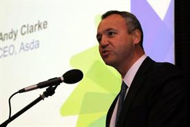 Andy Clarke: the Asda chief will step down after seven straight quarters of sales decline