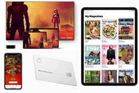 Apple widens ecosystem with ad-free TV, gaming and credit card services