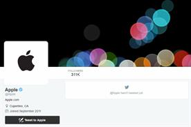 Apple: finally on Twitter
