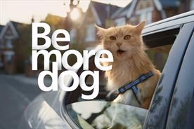 O2: Be more dog campaign