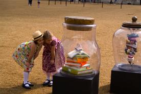 The BFG: dream jars have been dotted around London