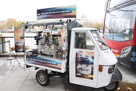 Shell aims to change energy brand image through coffee-fuelled bus