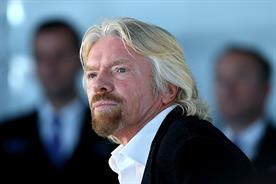 Richard Branson: flying out to California following crash