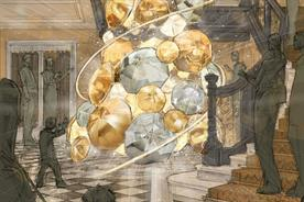 The tree will feature a number of lights connected to motion sensors (Claridge's/Burberry)