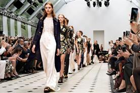 Burberry: the brand's 2016 spring/summer show was previewed on Snapchat