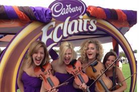 Cadbury's Eclairs string quartet