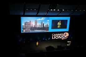 Keith Weed: Unilever's chief marketing officer on stage at Cannes