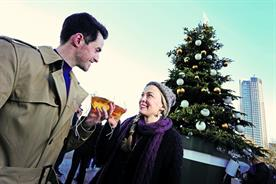 Carlsberg planted a beer dispensing tree on the South Bank last Christmas