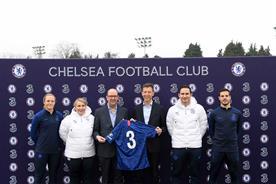 Chelsea FC unveils Three as next shirt sponsor