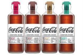 Coca-Cola launches flavoured mixers range
