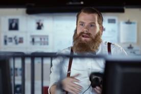 James Corden: stars in online Samsung ad